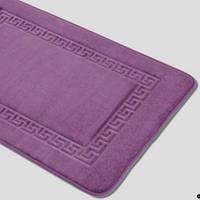 Коврик  60х90 Arya Dalia вискоэластик фиолетовый