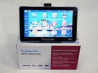7'' GPS навигатор Freelander 7033 4Gb Bluetooth +AV-in+ IGO+Navitel+CityGuide