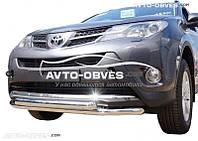Кенгурятник двойной ус для Toyota Rav4
