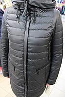 Куртка демисезонная CLASNA CW 17C- 098 ЧЕРНЫЙ