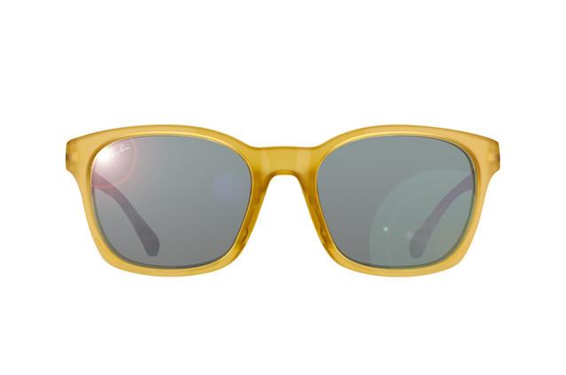 Солнцезащитные очки Ray-Ban  Active Yellow Grey Mirror RB4197 60436G 56-20