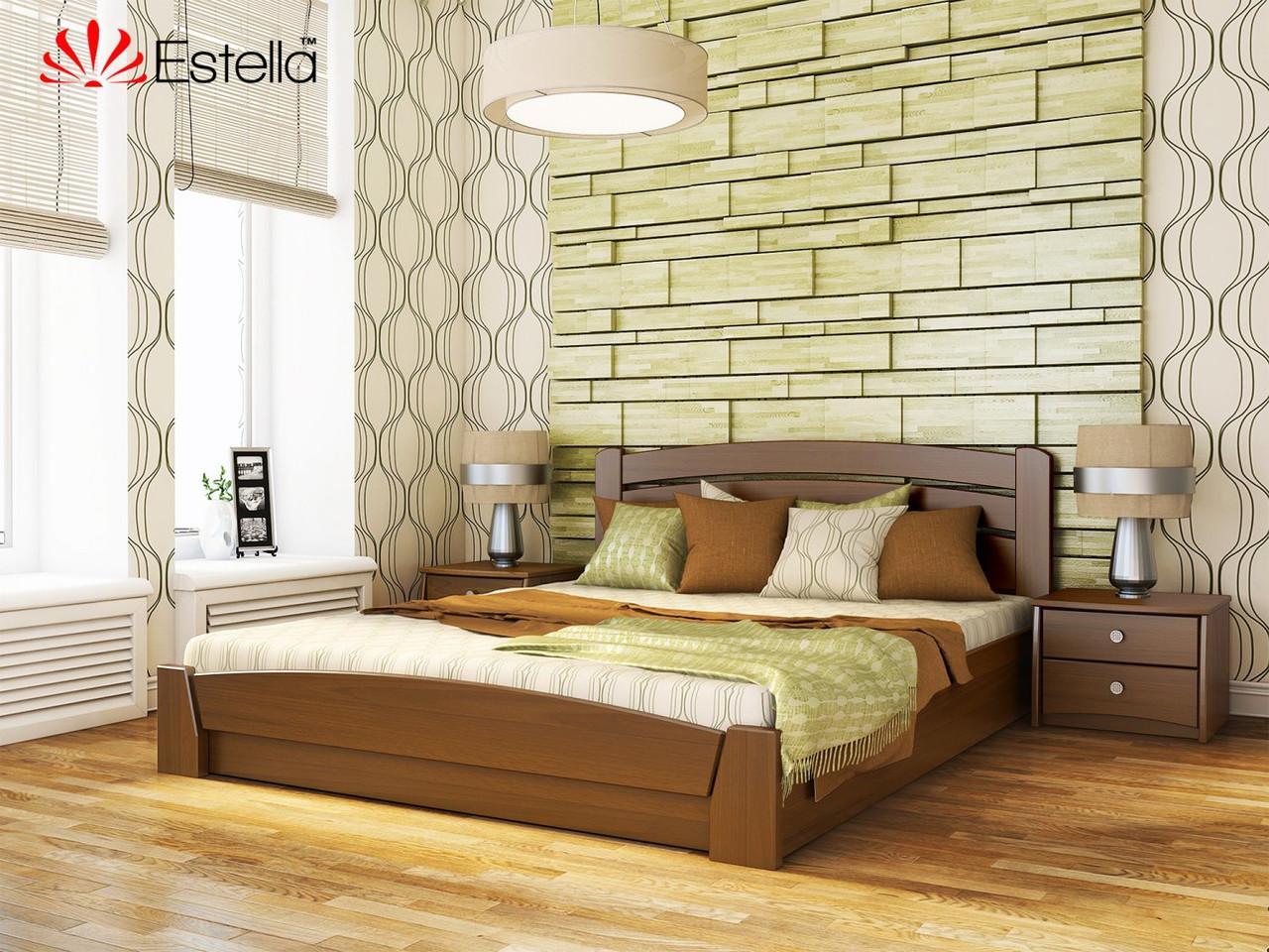 """Деревянная кровать с подъемным механизмом """"Селена Аури"""""""