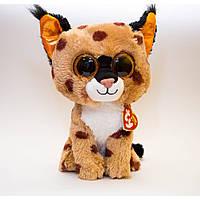 Мягкая игрушка TY Beanie Boo's Рысь Buckwheat