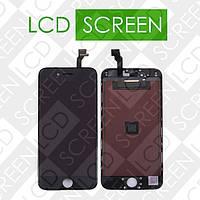 Дисплей для iPhone 6 с сенсорным экраном, черный, модуль ( дисплей + тачскрин )