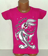 Детская одежда оптом.Футболка для девочек 4,5,7 лет