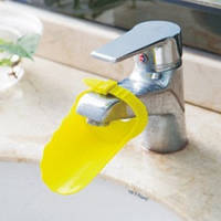 Насадка - удлинитель для водопроводного крана регулируемый Желтый