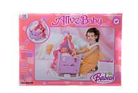 Игрушечная кровать-колыбель для куклы 008-09