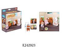 Набор мебели  ( 012-05b), пластик, цветная коробка, 12.00x11.50x4.50см, 3-6 лет, , 100089430