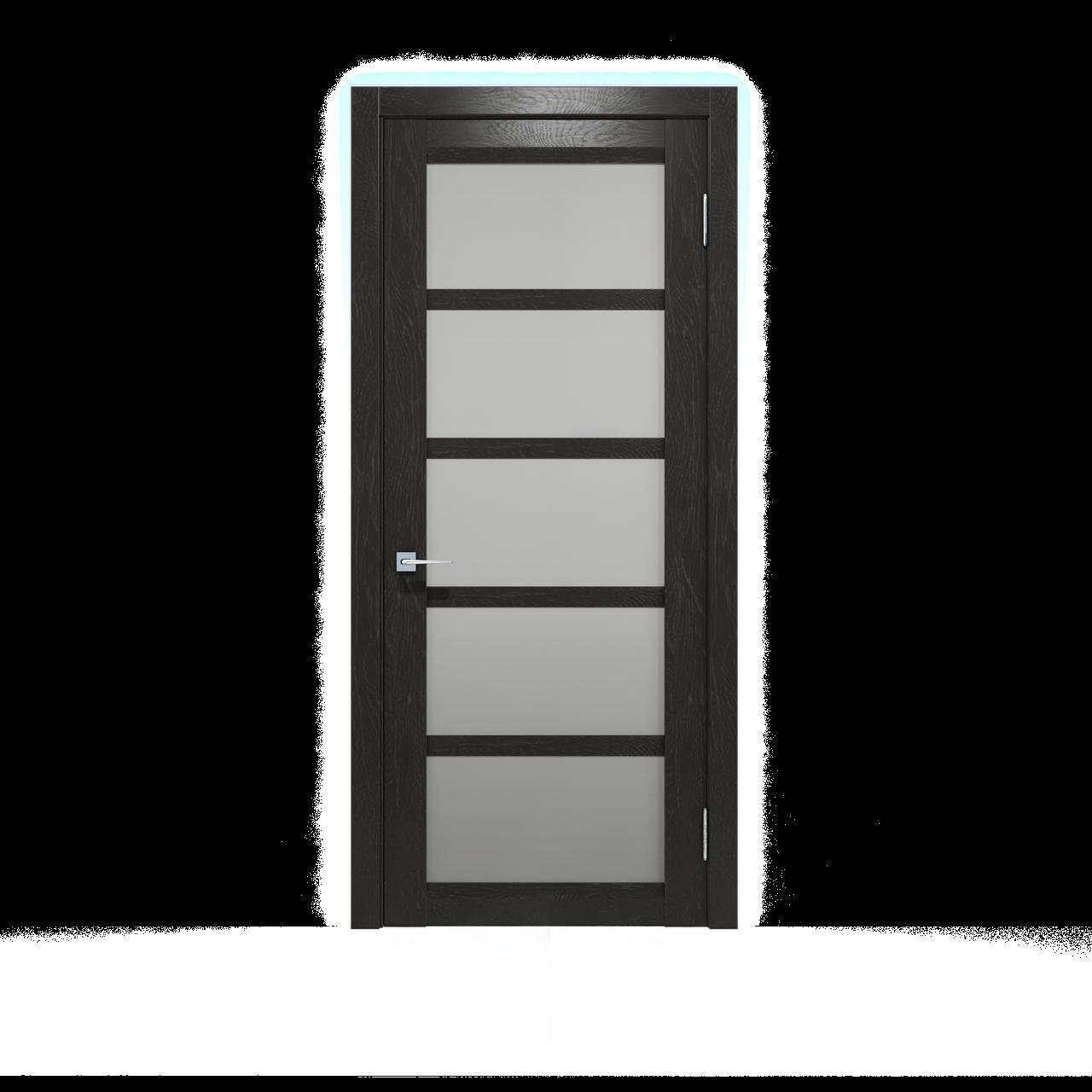 Межкомнатные двери шпонированные дубом, модель Дукат ПО венге, бруно,мокко. Шпон дубовый
