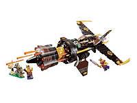 Детский конструктор bela Нинзя 10322 Истребитель Коула 234 детали в коробке 35x19x6.8 см