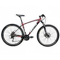 "Велосипед в коробке 29"" Leon TN PRO AM DD рама-19"" Al чёрно-красный"