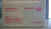 Гелевый аккумулятор LogicPower LP-GL9 12V 9AH