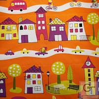 Ткань для детской Городок Распродажа