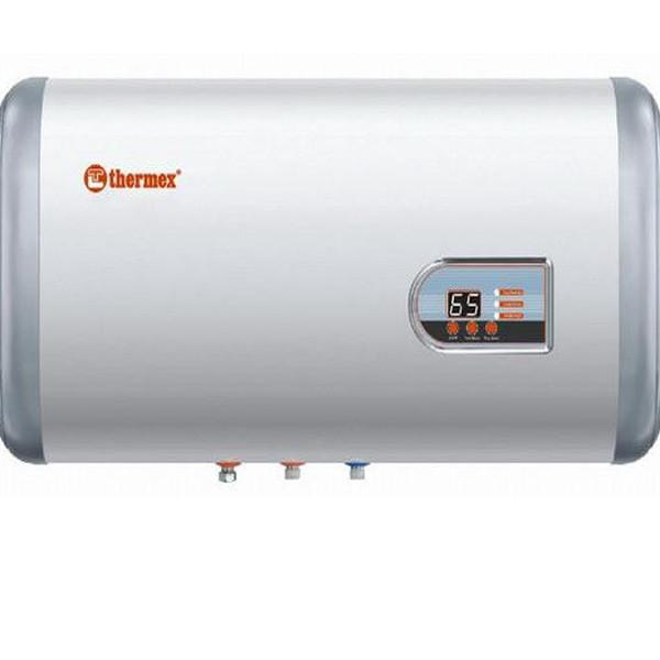 Бойлер настенный Thermex FLAT PLUS IF 50 H, горизонтальный, 1,3+0,7 кВт, бак из нерж, стали, электронная панель управления - OptMan - самые низкие цены в Украине в Харькове