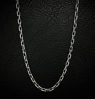 Серебряная цепочка, 600мм, 14,8 грамма, якорное плетение