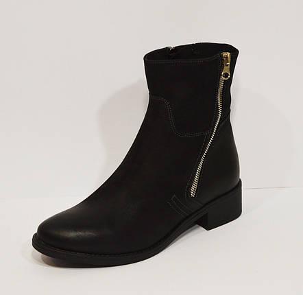 Черные женские ботинки Lan-Kars 425, фото 2