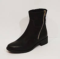 Черные женские ботинки Lan-Kars 425