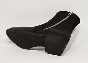 Черные женские ботинки Lan-Kars 425, фото 3