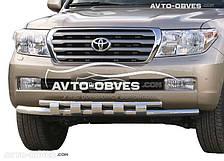 Двойной ус с грилем для Toyota Land Cruiser 200. Эксклюзив