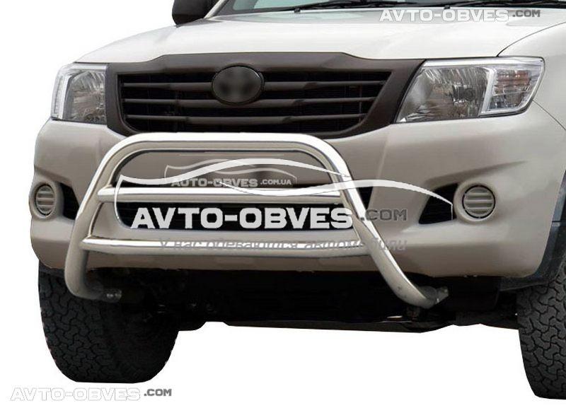 Дуга переднего бампера для Toyota Hilux без логотипа низкий