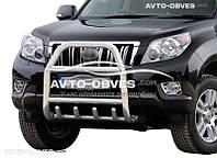 Защита переднего бампера Toyota Prado 150 (п.к. RR04)