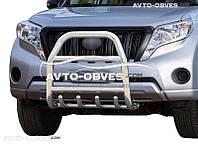 Защита переднего бампера для Land Cruiser Prado 150 2014-2018 (п.к. RR04)