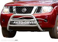 Защита переднего бампера для Nissan Navara
