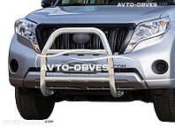 Защита переднего бампера штатная для Land Cruiser Prado 150 2014-2018 (п.т. TW0054)