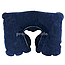 Надувная подушка для путешествий, цвет тёмно-синий, размер XL (26 х 40см) для женщин и мужчин, фото 3