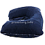 Надувная подушка для путешествий, цвет тёмно-синий, размер XL (26 х 40см) для женщин и мужчин, фото 5