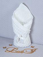 """Конверт-одеяло для новорожденного """"Квадратик"""""""