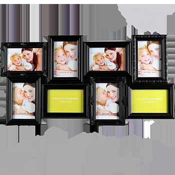 Резная мультирамка на 8 фото в двух цветах, фото 2