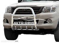 Кенгурятник для Toyota Hilux без логотипа