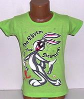 Детская одежда оптом.Футболка для девочек 4,5,6,8 лет
