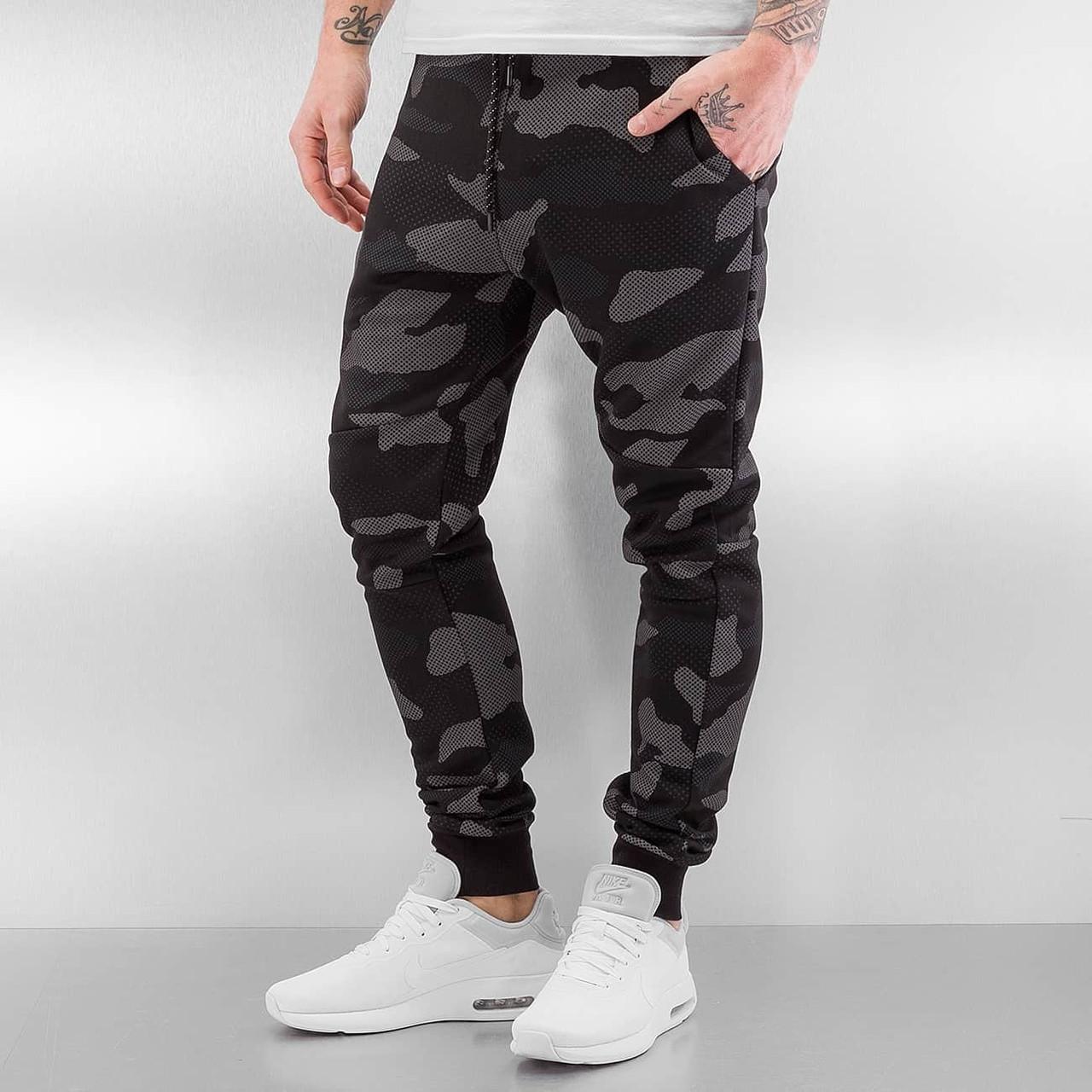 Спортивные зауженные брюки цвета хаки - Оптово - розничный Интернет-Магазин