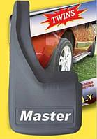 Брызговики Renault Master/ Рено Мастер задни