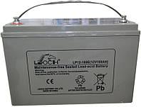 Аккумуляторная батарея мультигелевая AGM LEOCH LP12-100E (100Ah), фото 1