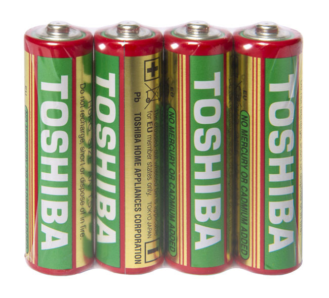 Батарейка Toshiba пальчиковая AA