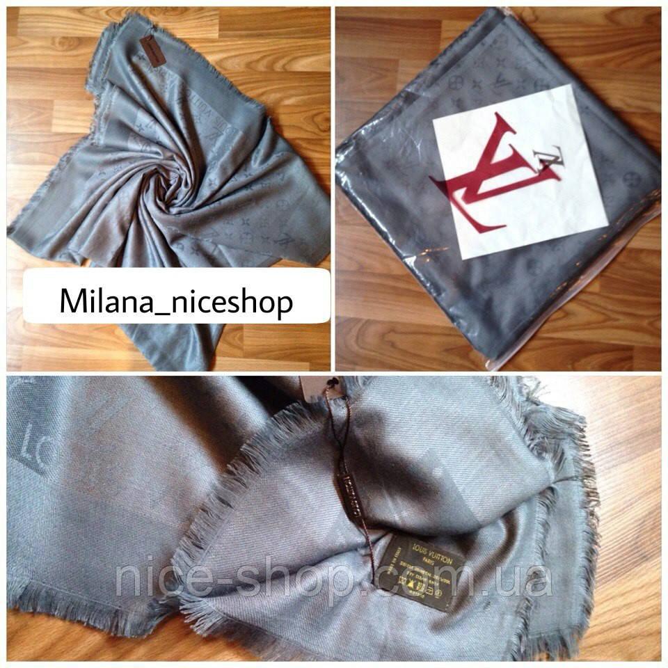 067982e1080f Платок Louis Vuitton темно-серый  продажа, цена в Одессе. платки ...