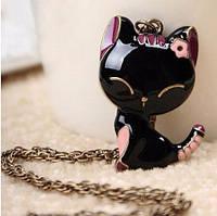 Кулон для девушки Кошечка на цепочке
