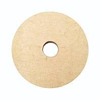 Фетровый круг для станка 150х30х32 мм.