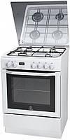 Indesit Газовая плита с электрической духовкой INDESIT I6GMH6AG W