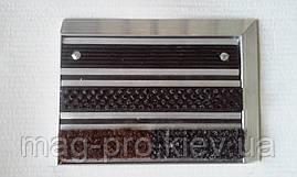 Грязезащитная решетка НОВА наполнение (щетка, 2 резины), фото 3