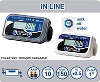 IN LINE - цифровой счетчик учета топлива, мочевины, воды, Adam Pumps (Италия)