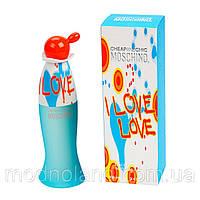 Женская туалетная вода Moschino Cheap&Chic I Love Love 100 ml (Москино Чип энд Шик ай Лав Лав)