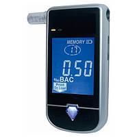 Специальный алкотестер FiT233 с электрохимическим датчиком,LCD дисплеем,функцией печати, мундштуками