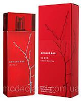 Женская парфюмированная вода Armand Basi In Red 100 ml (Арманд Баси Ин Ред)