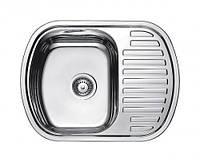 Fabiano Мойка кухонная стальная Fabiano 630*490 сатин