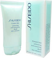 Гоммаж-пилинг для лица ShiSeido Green Tea