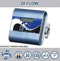 Электронный счетчик расхода дизельного топлива, масла DI-FLOW, 10-150 л/мин